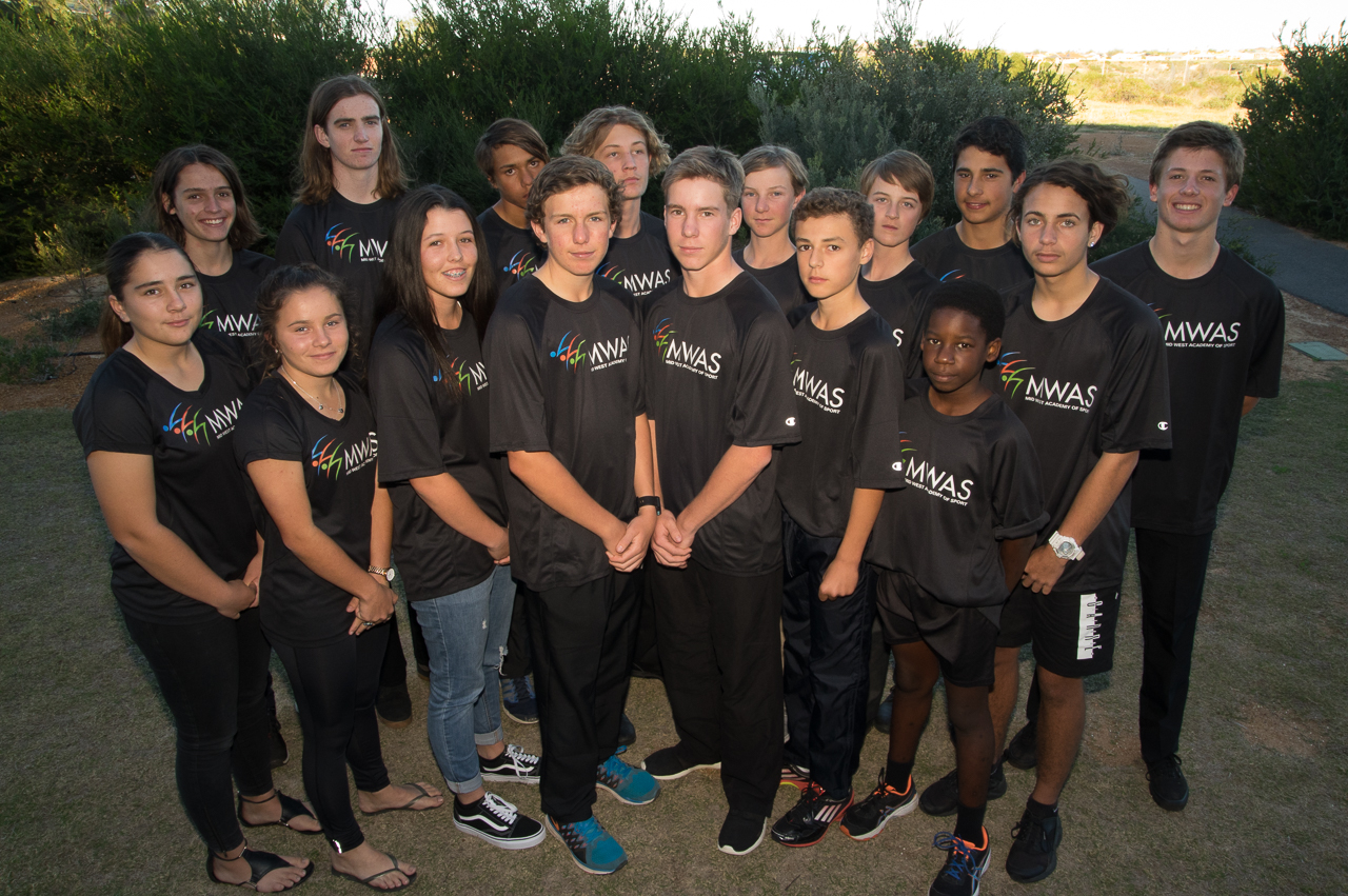 Scholarship athletes-Development Squad-MWAS-Geraldton